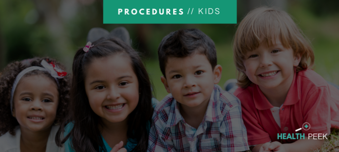 most common medical procedures for kids